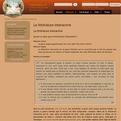 La littérature interactive