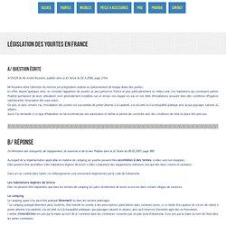 Législation sur les yourtes