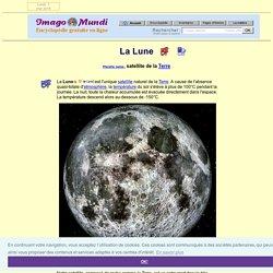 La Lune (satellite de la Terre).