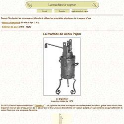 La machine à vapeur