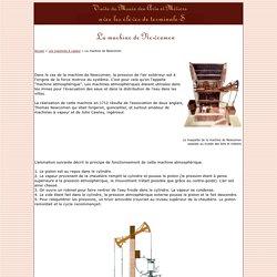La machine à vapeur de Newcomen