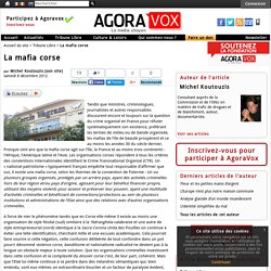 La mafia corse - AgoraVox le m dia citoyen