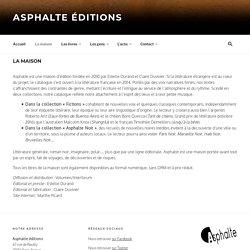 Asphalte éditions