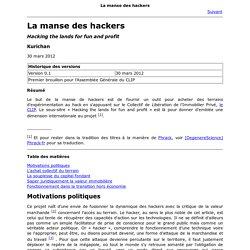 La manse des hackers