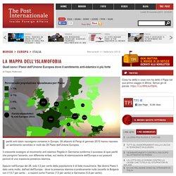 La mappa dell'islamofobia - TPI