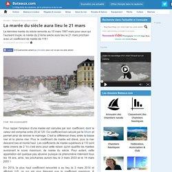 La marée du siècle aura lieu le 21 mars