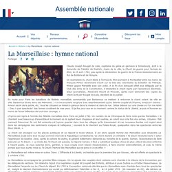 La Marseillaise : hymne national