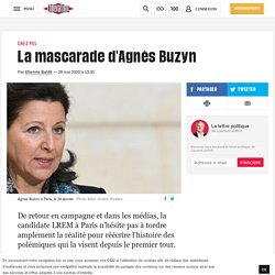La mascarade d'Agnès Buzyn