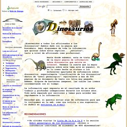 La mayor Web de Dinosaurios del mundo