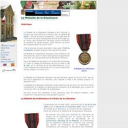 La Médaille de la Résistance