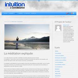 La méditation expliquée
