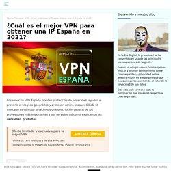 La mejor VPN España en 2020