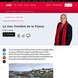 La mer, frontière de la France