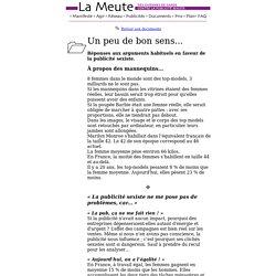 La Meute - Documents - Arguments
