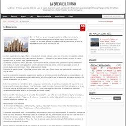 La Milano bevuta - la Breva e il Tivano