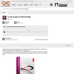 Tutoriel de mise en page avec Adobe InDesign