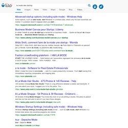 la mode des startup - Lilo