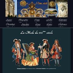 La Mode du XVIIe siècle - Au 17ème Siècle