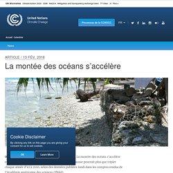 La montée des océans s'accélère