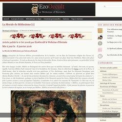 La Morale du Mithraïsme [1]