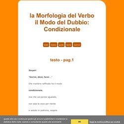 la Morfologia del Verbo