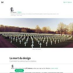La mort du design – Medium