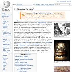 La Mort (mythologie)/ Wikipedia