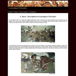 La mosaïque d'Alexandre à Pompéi
