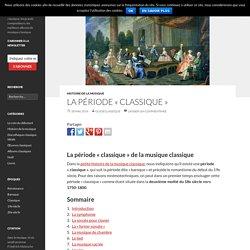La musique classique «classique»