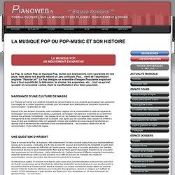 LA MUSIQUE POP ET SON HISTOIRE