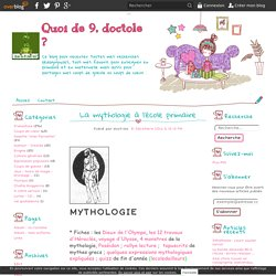 La mythologie à l'école primaire