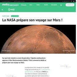 La NASA prépare son voyage sur Mars