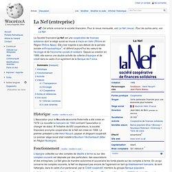 La Nef (entreprise)