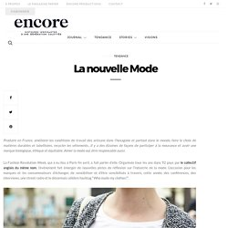 La nouvelle Mode