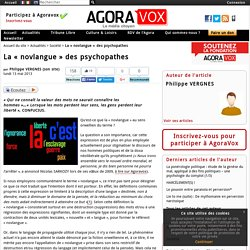 La « novlangue » des psychopathes