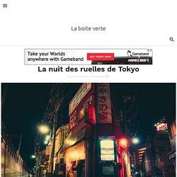 La nuit des ruelles de Tokyo