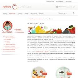 La nutrition en 7 leçons
