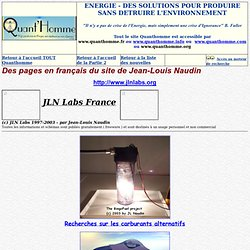 La page JLN Labs France