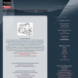 La page LaTeX