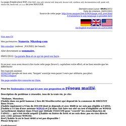 La page WiFi de yves MAGUER