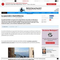 La pauvreté à Saint-Etienne