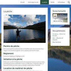 La pêche - Lac des Autannes