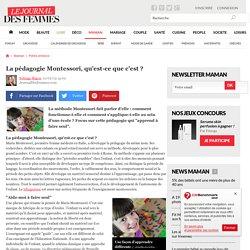 La pédagogie Montessori, qu'est-ce que c'est ?