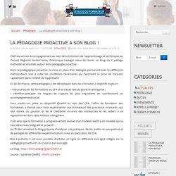 La pédagogie proactive a son blog !