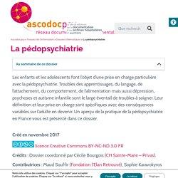 La pédopsychiatrie