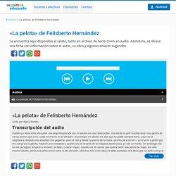«La pelota» de Felisberto Hernández