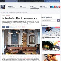 La Penderie : déco & menu couture