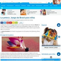 La peteca. Juego de Brasil para niños