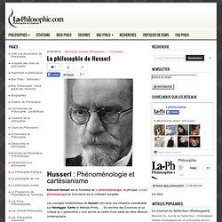 La philosophie de Husserl : Phénoménologie et cartésianisme