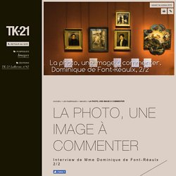 La photo, une image à commenter - TK-21